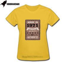 2020 Retro Mather's day T-shirt 49th Birthday tshirt Vintage 1971 All Original P