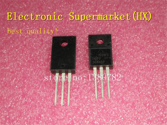 Free Shipping 100pcs/lots 30N43P TGPF30N43P  TO 220 IC In stock!
