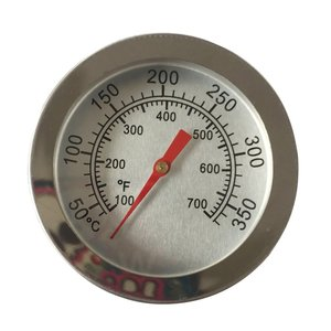 Oven Thermometers BBQ Smoker Pit Grill Bimetallic Thermometer Temp Gauge with Dual Gage 500 Degree Cooking Tools Stainless Steel(China)