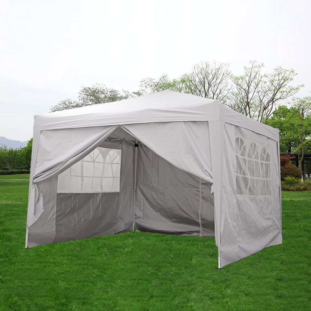Panana Waterproof 3x3 M Pop Up Gazebo Marquee Home Garden Awning Party Tent Camping Canopy Steel Frame Fast Delivery