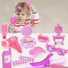 Princess Toys Girls Cosmetic Dressing Pretend-Play-Toy-Set Christmas-Gifts Kids DIY