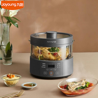 New Joyoung Steam Rice Cooker 3.0L Household Multifunction Electric Cooking Machine no Coating Bookable Low Sugar Rice Cooker