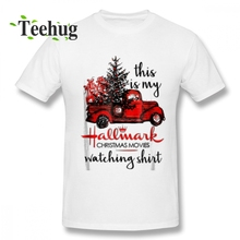 Latest This Is My Hallmark Christmas Movies Watching T Shirt  T-shirt Male New Arrival Unique For 100% Cotton T-Shirt