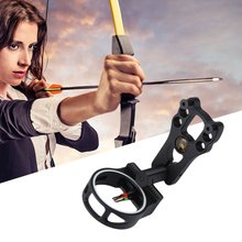 1 pc aluminum alloy bow sight stabilzer reduce vibration dampener silencer shock absorber compound bow hunting archery accessory New Extreme Aluminum Compound Bow Sight 3-Pin Hunting Archery Fiber Optic For Compound bow shoot Aim Bow Arrow accessory Tools