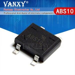Image 1 - 50 sztuk ABS10 SOP 4 SMD mostek prostowniczy stos układ scalony