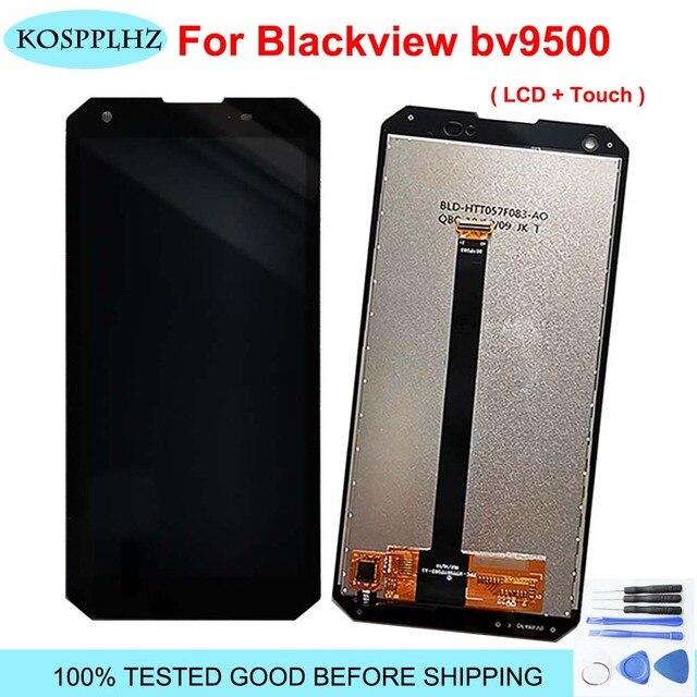100% เดิมโทรศัพท์สำหรับBlackview Bv9500 LCDและหน้าจอสัมผัสBV 9500โทรศัพท์มือถืออุปกรณ์เสริม