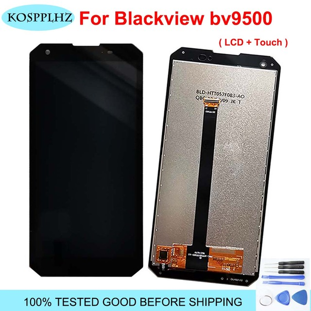100% original Tested Telephone For Blackview bv9500 LCD Display And Touch Screen Assembly BV 9500 mobile phone accessories