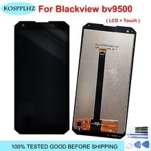 100% orijinal test telefon Blackview bv9500 LCD ekran ve dokunmatik ekran meclisi BV 9500 cep telefonu aksesuarları