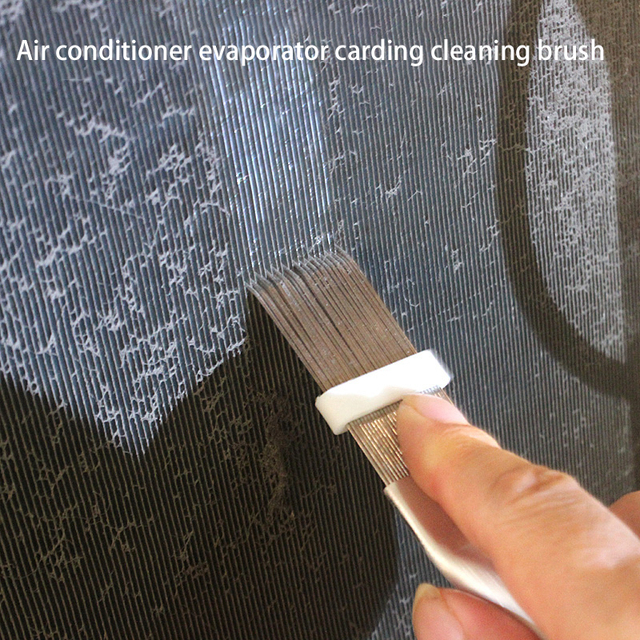 1 pcs Air Conditioning Cleaning  Comb Stainless Steel Air Condition Fin Straightener Air Conditioning Brush Fin