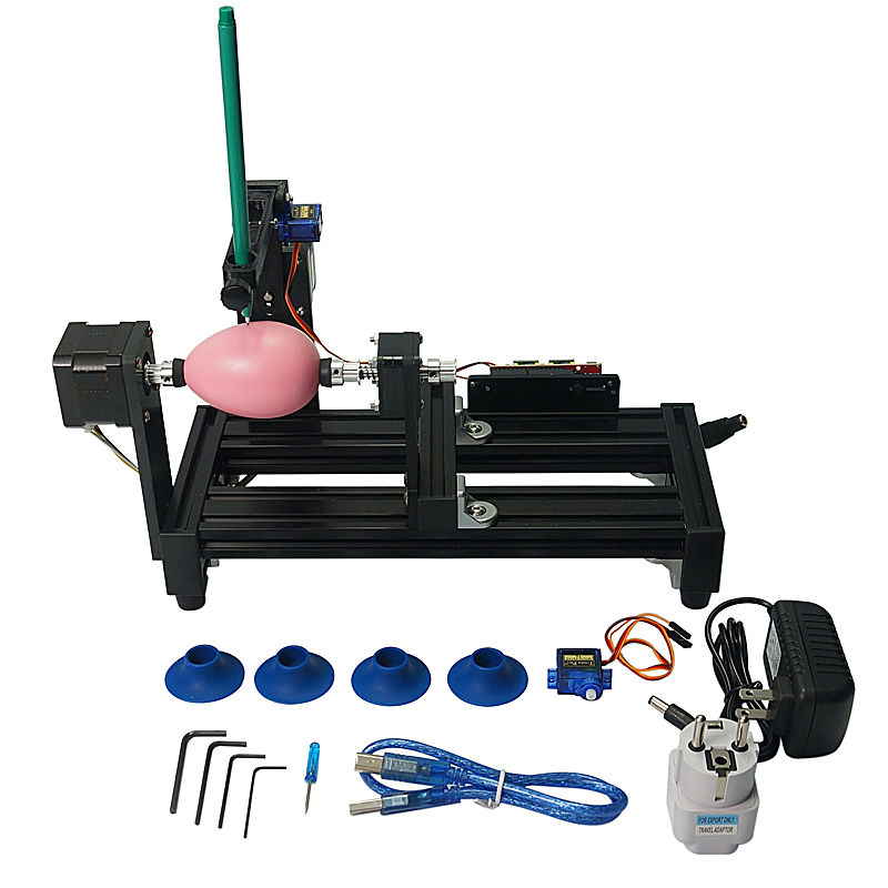Disassembled LY Big Size Eggdraw Eggbot Egg-drawing Robot  Draw Machine Spheres Drawing Machine Drawing On Egg And Ball For Educ