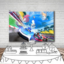 Персонализированные в стиле вечеринки честь Дня рождения с Ёжиком
