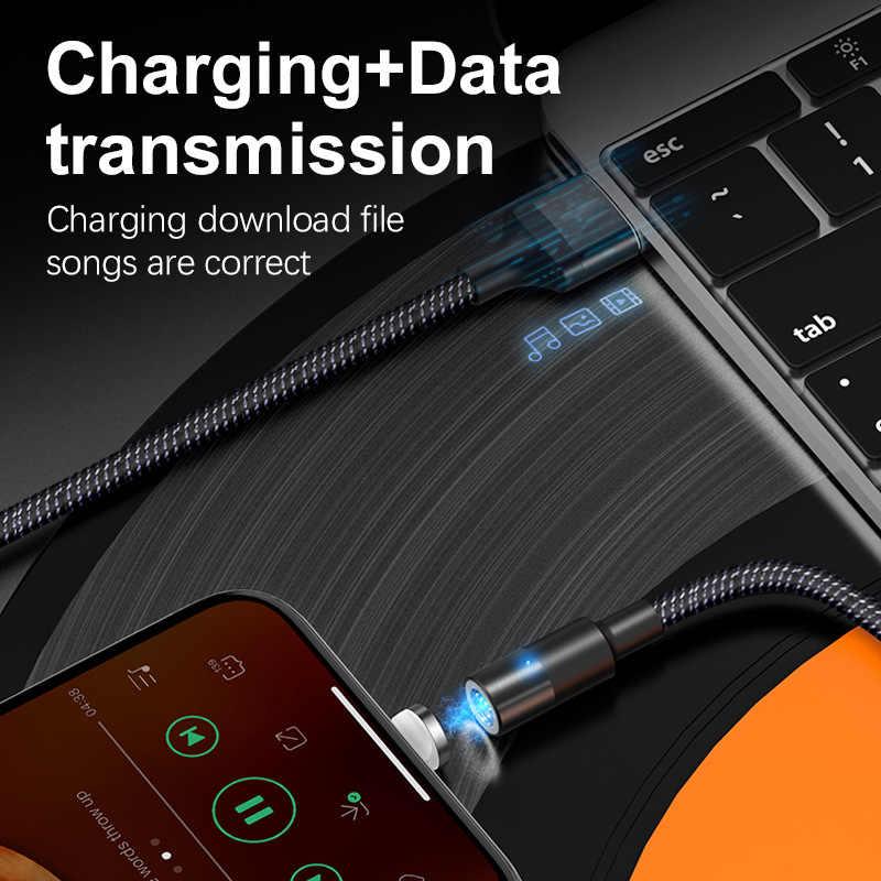 OneVan Usb di Ricarica Veloce Cavo 3A del Caricatore Magnetico Micro Usb di Tipo C Cavo di Cavo di Fulmine Per il iPhone 7 Xr Xiaomi samsung Telefono