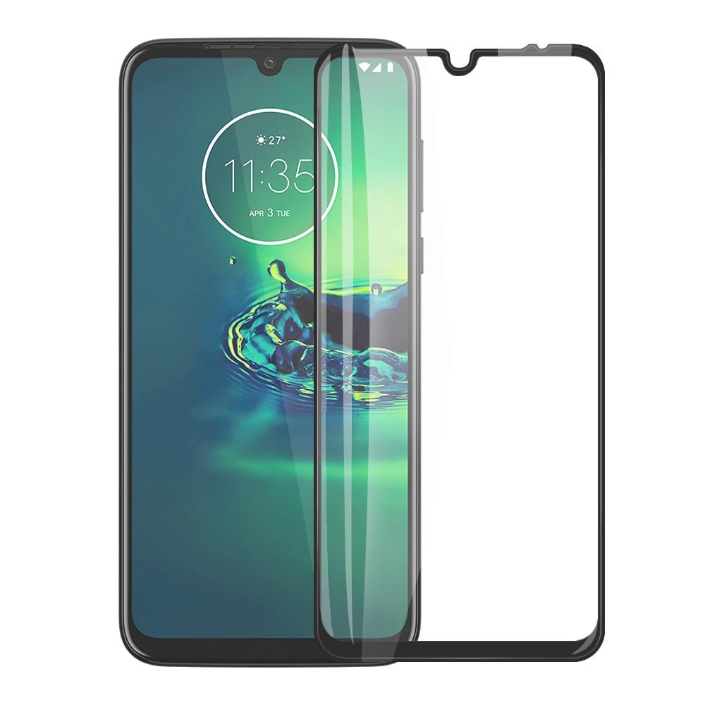 Full Cover Tempered Glass For Moto G8 G7 Plus E6 Plus G8 G6 P30 Play Screen Protector For Moto G8 G7 G6 E6 One Zoom Macro Film