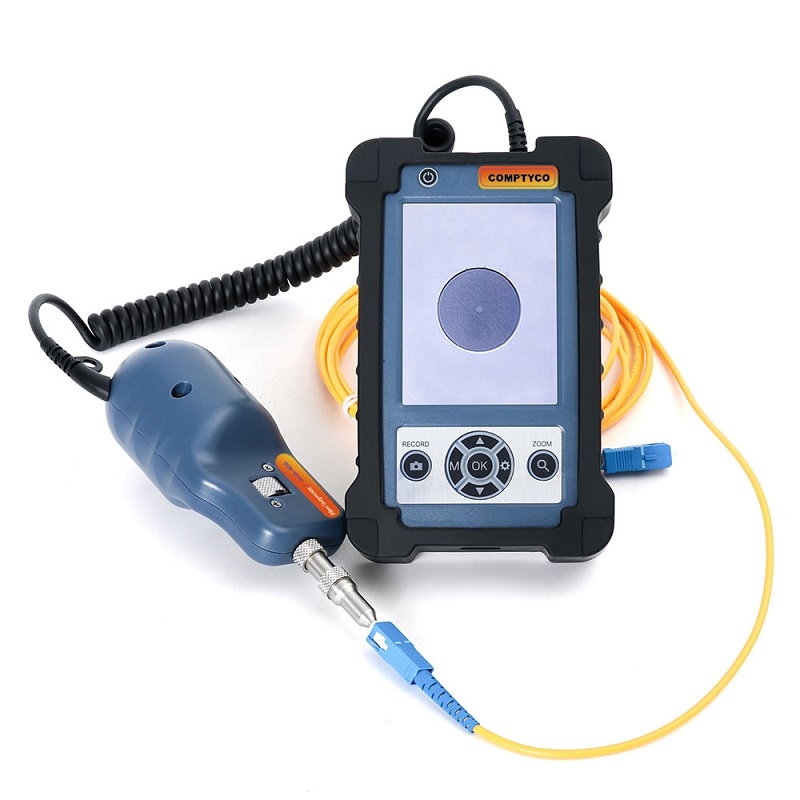 400x Fiber Optic Video Inspection Probe And Display, Fiber Optic Microscope, With Tips