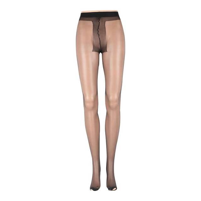Senhoras femininas sexy dedo do pé aberto sheer ultra-fino meias calcinha meias para mulher