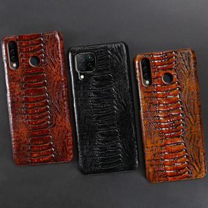 Image 5 - Leather Phone Case For Huawei Honor 30 30S X10 20 20i 10 10i 9 8 Lite 9X 8X Max 7X 7A V30 Pro V20 V10 Ostrich Foot Texture Cover