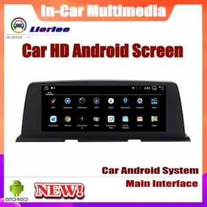 Image 3 - 6 Core نظام أندرويد تحديث نظام تحديد المواقع سيارة لسيارات BMW 6 Series F12 2013 ~ 2017 Autoradio الملاحة سيارة الوسائط المتعددة