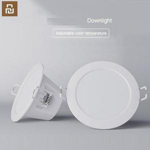 Image 2 - Youpin Thông Minh Downlight Âm Trần Wifi Làm Việc Với Xiaomi Mijia App Mi Home Điều Khiển Từ Xa Trắng Và Ánh Sáng Ấm Áp Thông Minh Thay Đổi Đèn LED ánh Sáng