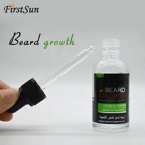 Натуральное органическое масло для бороды, бальзам, воск, средство для выпадения волос, для быстрого роста бороды, 30 мл, эссенция, тоник для волос, уход за бородой