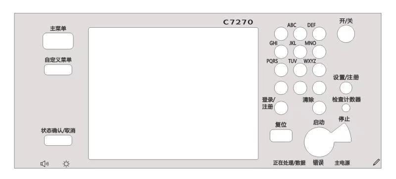 Nuevo Panel de Control neumático FM0-0905-000 para Canon IR6255 IR6265 IR6275 IR8285 IR8295 iRA8205 IRC7260 IRC7270 IRC9270 IRC9280
