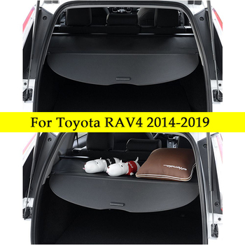 Car Interior Cargo Cover 600 D + Oxford cloth Trunk Cover Luggage Carrier Curtain Car Accessories