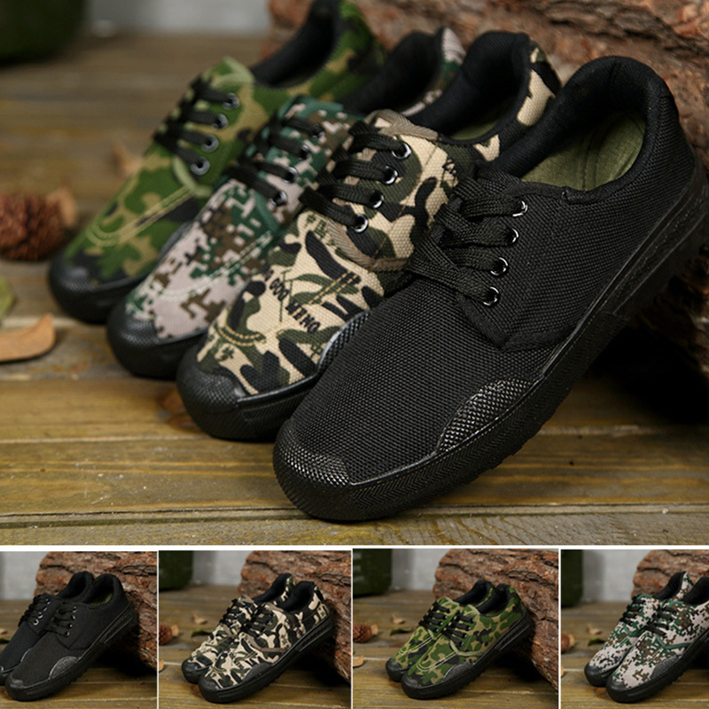 Shoes Liberation-Shoes Farm-Work Camouflage Outdoor Men Rubber Training-Wear Insurance