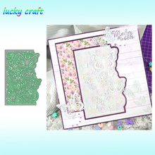 Butterfly lace frame Metal Cutting Dies for DIY Scrapbooking Embossing Paper Card Album Decoration Crafts Cut 2019