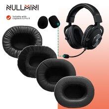 NullMini وسادات أذن بديلة لسماعات Logitech G Pro X ، وأكمام جلدية