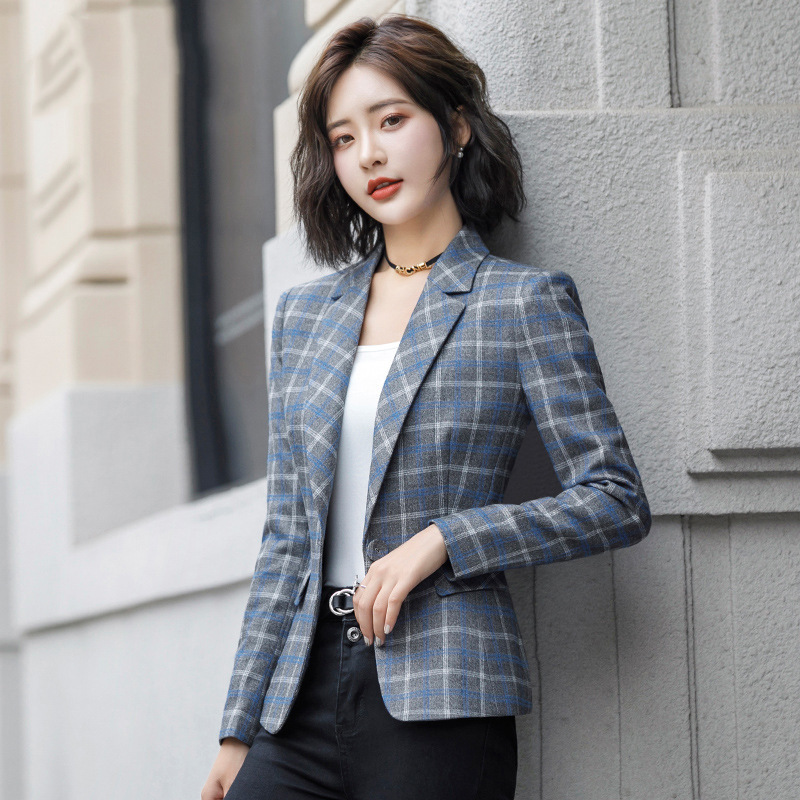 High quality office jacket blazer feminine 2020 new autumn and winter casual office suit coat Female Elegant business jacket