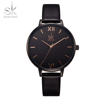 relogio SK Top Brand Luxury Fashion Women Watches Women's Watches Ladies Watch Women Leather Clock reloj mujer montre femme image