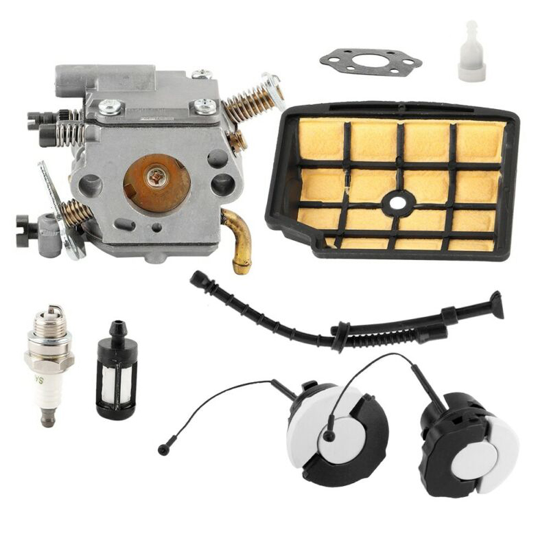 OEM 11291200653 Fits For Stihl MS200 MS200T Carburetor Carb Chainsaw Parts Kit Home Garden Supplies