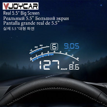 Vjoycar v41 mais novo cabeça up display carro obdii euobd 5.5