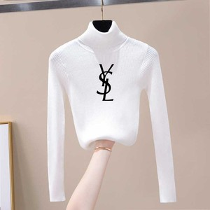 2020 Woman Sweaters Autumn Winter Casual Half Turtleneck Long Sleeve Knitting Female Jumpers Slim Fit Basic Sweater