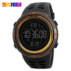 Top Brand SKMEI Men Sport Watch Waterproof Chronograph Countdown Digital Watches Fashion Men's Military Wristwatch Alarm Clock