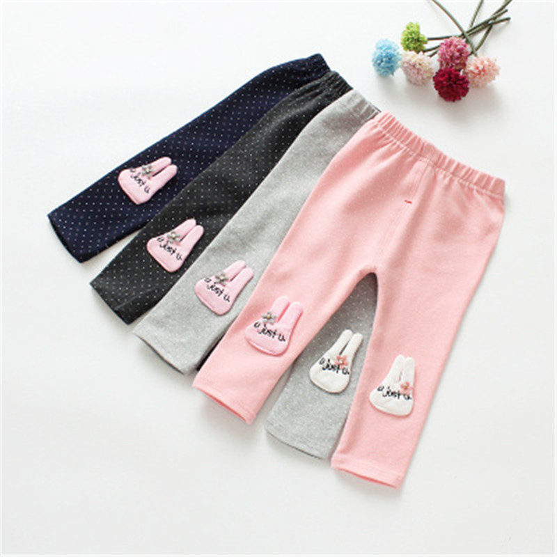 Cotton High Quality Baby Pantyhose Children Pants Boys Girls Ankle-length Flexible Warmer Leggings 4-24M Baby Casual Leggings