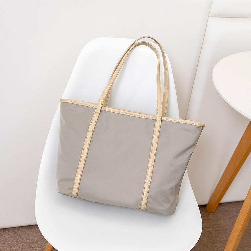 DAI.MM 2019New Style Women's Canvas Handbag Others Oxford Cloth Shoulder Bag Shoulder Zipper Fashion Tote Bag Woman bag