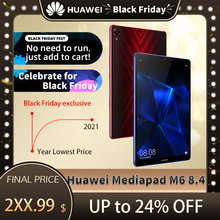 Orijinal Huawei Mediapad M6 8.4 inç tablet PC Kirin980 Octa çekirdek Android 9.0 6100mAh Huawei oyun tablet pc Google oyun
