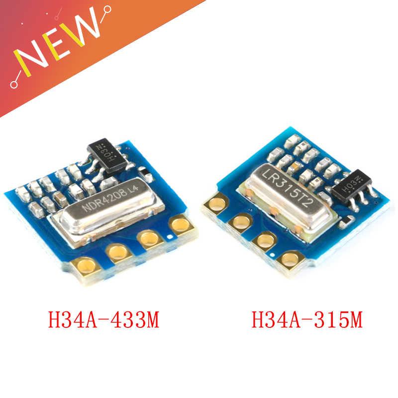 10 chiếc H34A không dây Module Phát 315M 433M điện áp thấp nhà thông minh điều khiển từ xa IOT Mô đun H34A-315M H34A-433M