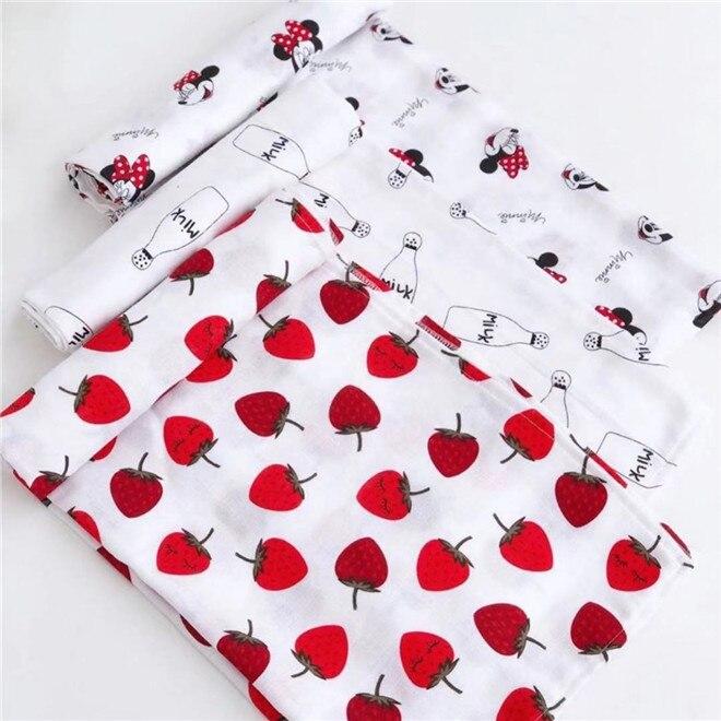 120cm*110cm Muslin Blanket Gauze Blanket Baby Swaddle Wrap Baby Blankets Super Soft Muslin Sequares