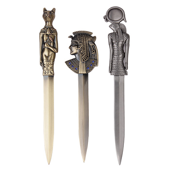 цена на Ancient Egyptian Vintage Letter Opener Envelope Paper Cutter Knife Letter Cutter Tool Cut Paper Utility Knife Office Supplies
