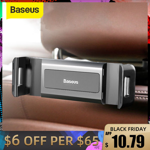 Baseus Car BackSeat Phone Holder 360° Rotation Foldable Stand For 4.7-12.3 Inch Tablet Ipad Phone Mount Auto Back Seat Support