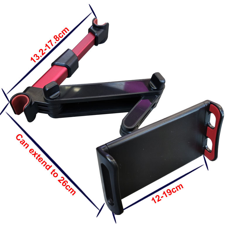Universal 5-11'' Onboard Tablet Car Holder Back Seat Holder Stand Tablet Accessories in Car For iPad 2 3 4 Mini Air 1 2 3 4 Pro