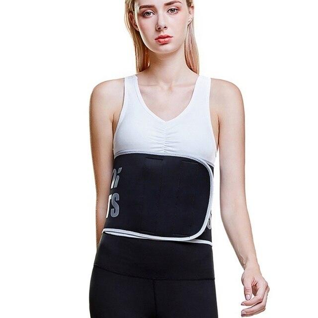 Women-Waist Cincher Trimmer-Sweat Crazier Slimming Body Shaper Belt-Sport Girdle Silver Ion Belt For Weight Loss
