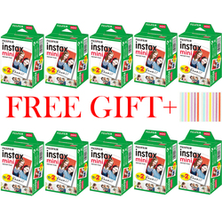 10-200 Sheets Fuji Fujifilm instax mini 11 9 8 films white Edge 3 Inch film for Instant Camera mini 8 9 7s 25 50s 90 Photo paper