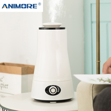 ANIMORE 2.5L Humidifier AROMA Ultrasonic Essent LED Light Humidifier น้ำมันกระจาย 110 240V Essential Oil Diffuser Air Humidifier