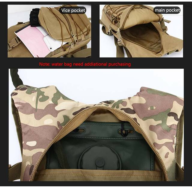 15l molle tático mochila 800d oxford militar caminhadas bicicleta mochilas esportes ao ar livre ciclismo escalada acampamento saco do exército xa568 3