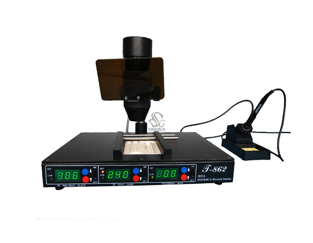 BGA Rework Station T-862 IRDA Soldering Welder T862 Infrared SMT SMD IRDA BGA Welder T 862