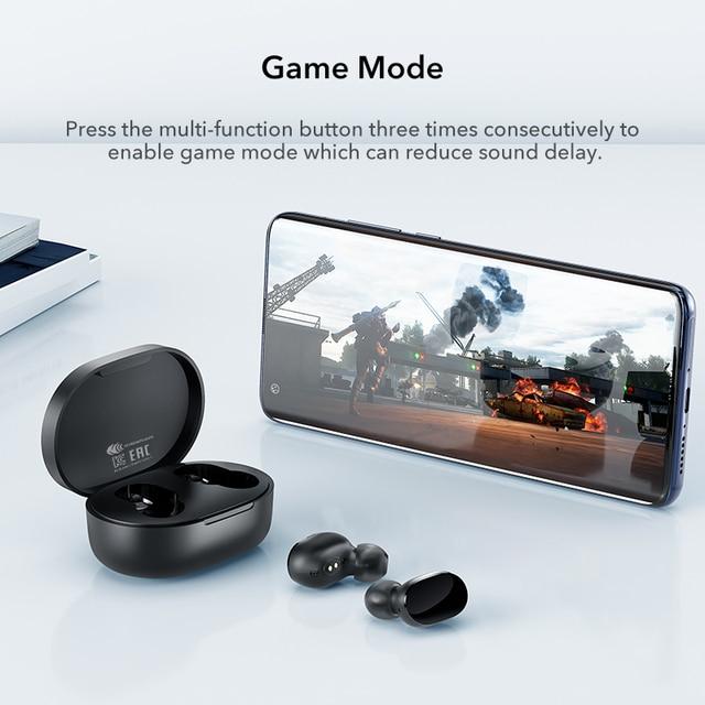 Xiaomi mi true wireless earbuds basic 2s Bluetooth 5.0 touch control TWS earphone gaming mode USB C headphone 4
