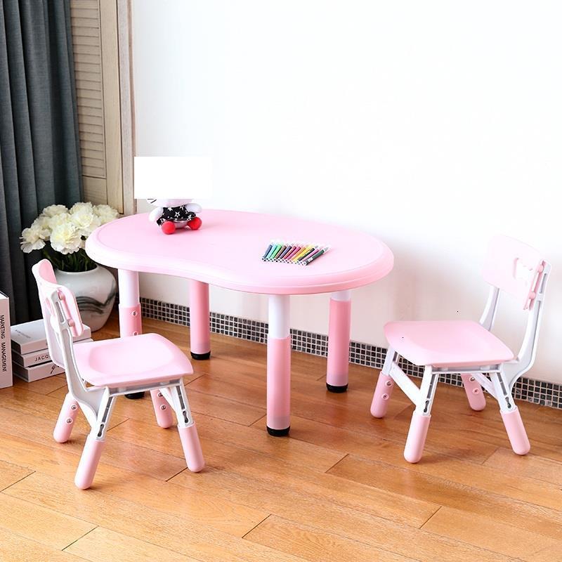 Baby Avec Chaise Escritorio Pour De Estudo Silla Y Infantiles For Kindergarten Study Kinder Mesa Infantil Enfant Kids Table