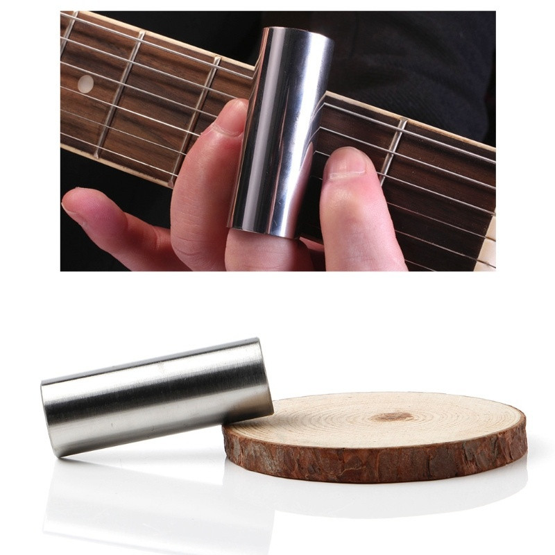 Bottleneck Slide Gitarre Slides fuer Gitarren Bass 60mm klar Neu